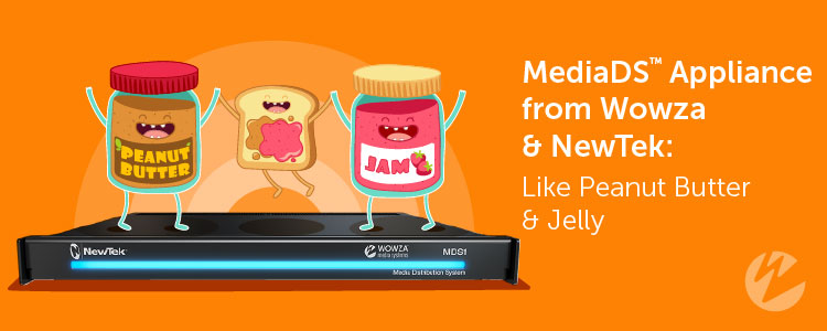 PB&J as metaphor for MDS streaming appliance
