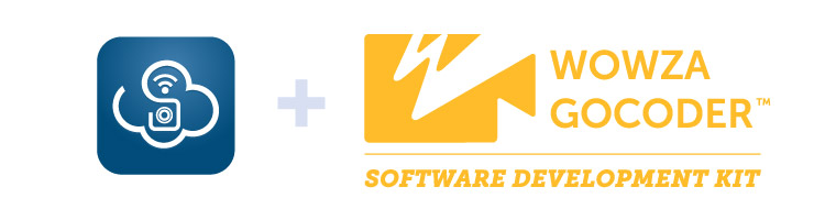 WeatherScope and Wowza GoCoder SDK logos