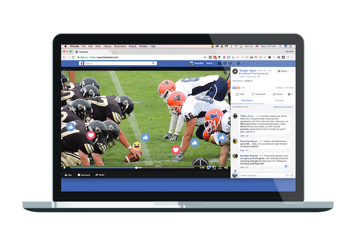 Professional Facebook Live Sports Stream