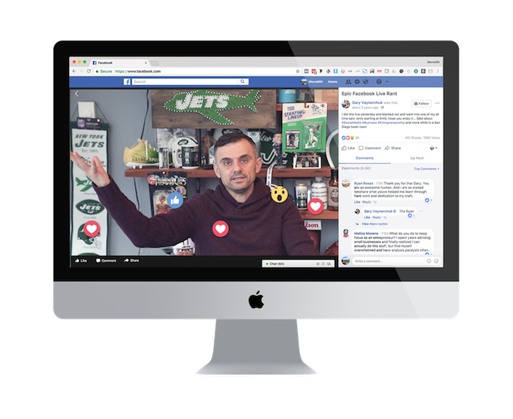 facebook live video application