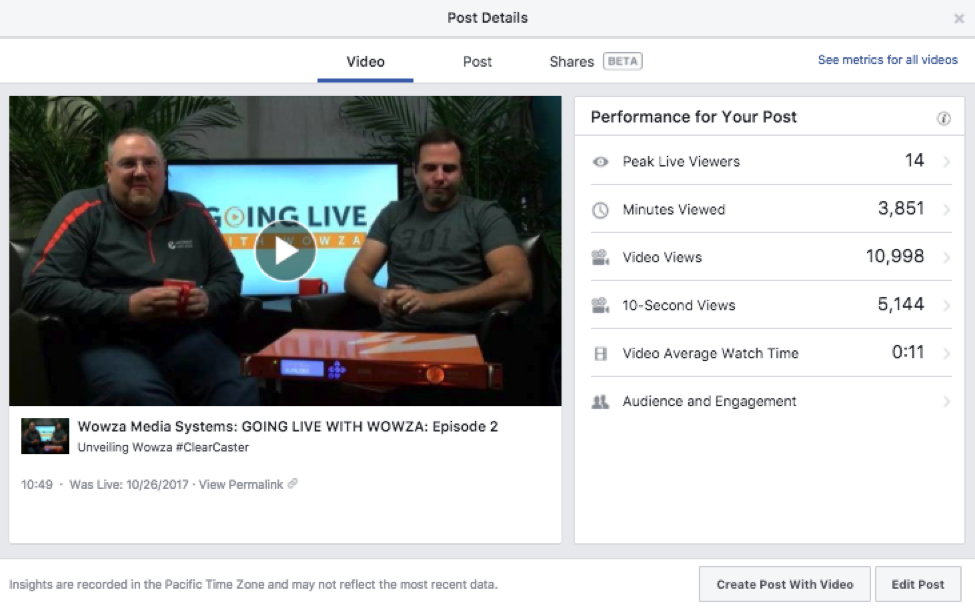 6 Facebook Live Metrics to Track Video Performance & Reach
