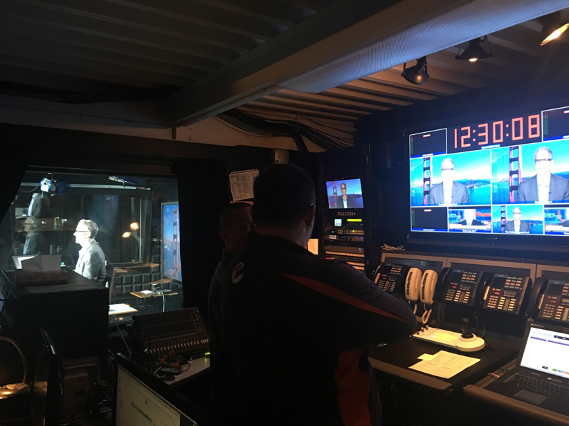 Live Streaming Control Room