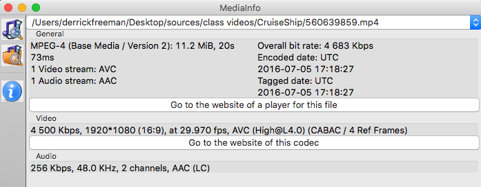 Encoding HEVC/H 265 Videos for Wowza Streaming Engine