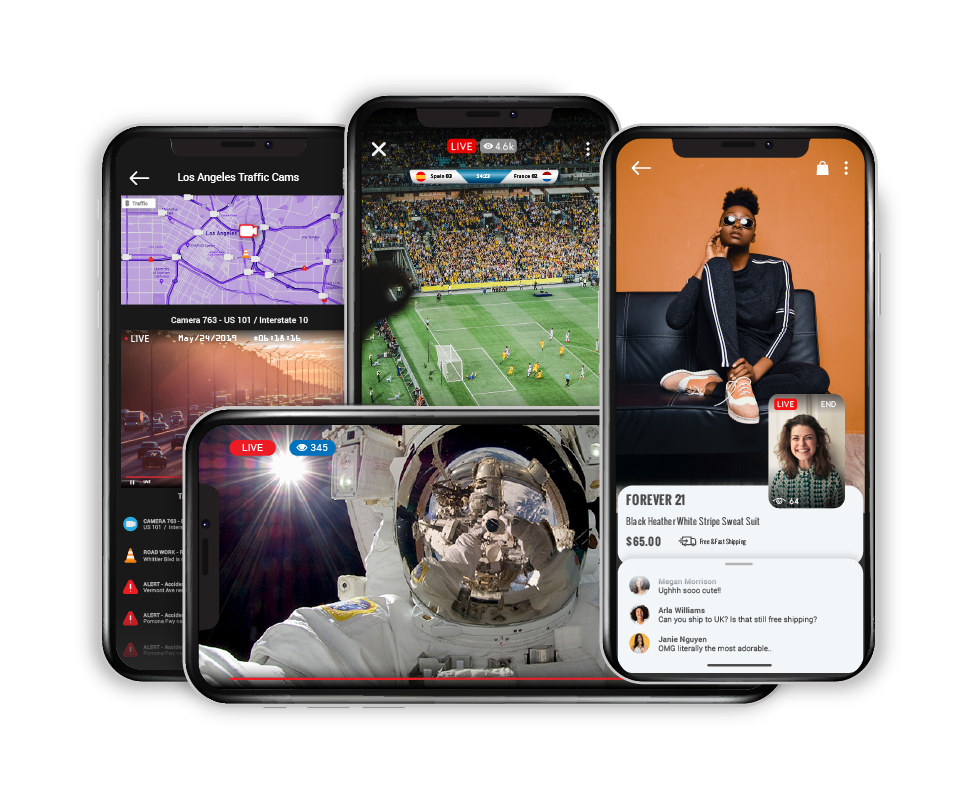 Wowza live streaming professional services streaming applications