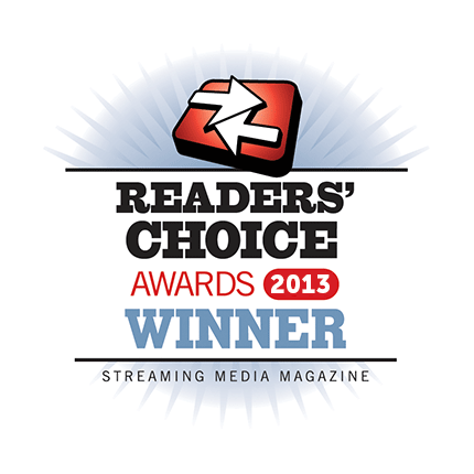Readers' Choice Award Winner 2013