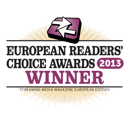 European Readers' Choice Award Winner 2013