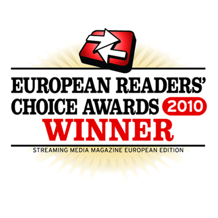 European Readers' Choice Award Winner 2010