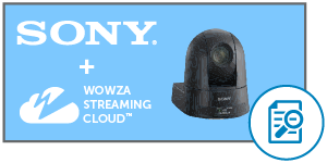sony wowza IP camera streaming