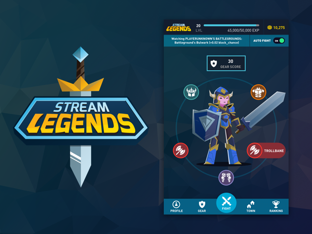 Stream Legends Video Game Streaming