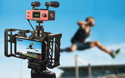 Wowza GoCoder Mobile Live Streaming Rig