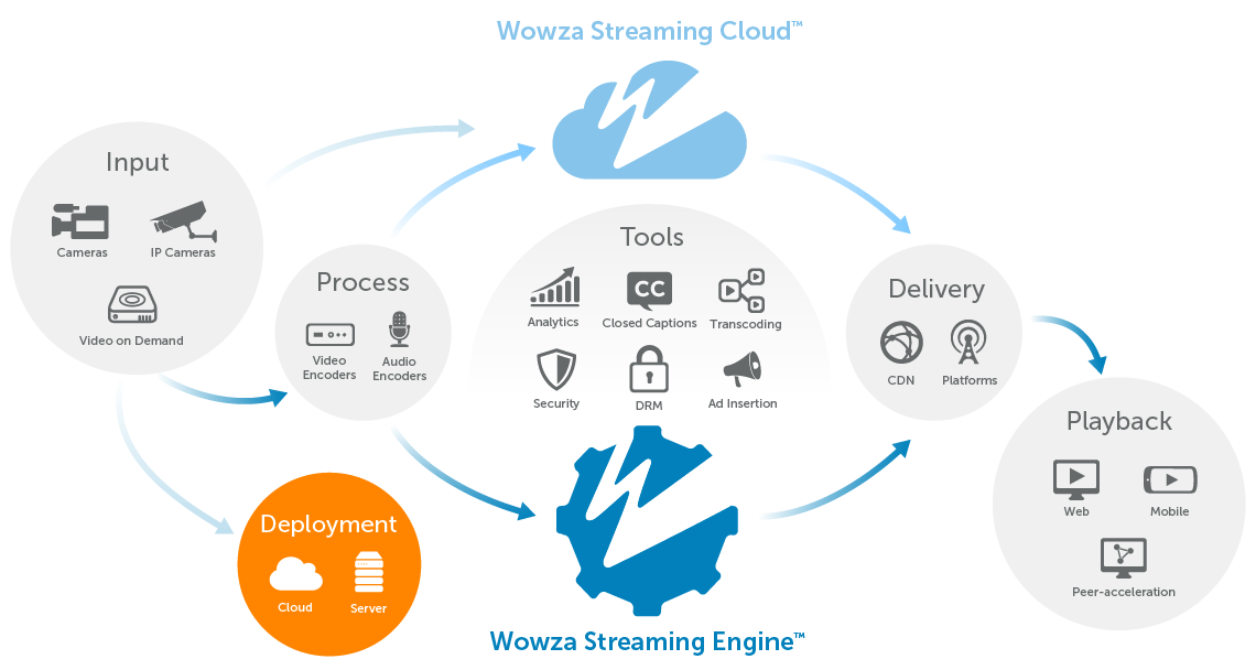 Cloud Hosting and Server Deployment | Wowza Media Systems