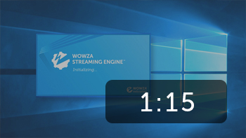 Install Wowza Streaming Engine on Windows in Under 90 Seconds.
