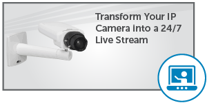 ip camera for 24x7 streaming