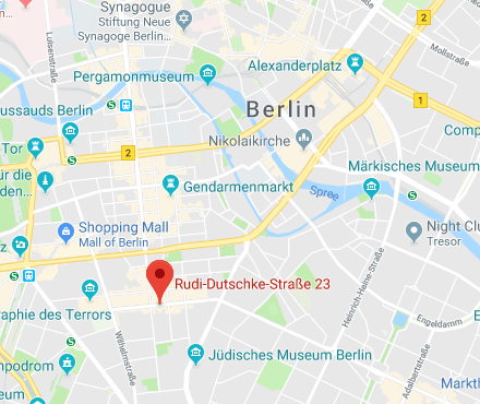 Berlin Office Map