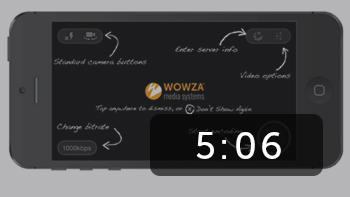 Setup a Live Stream Using Wowza GoCoder and Wowza Streaming Engine