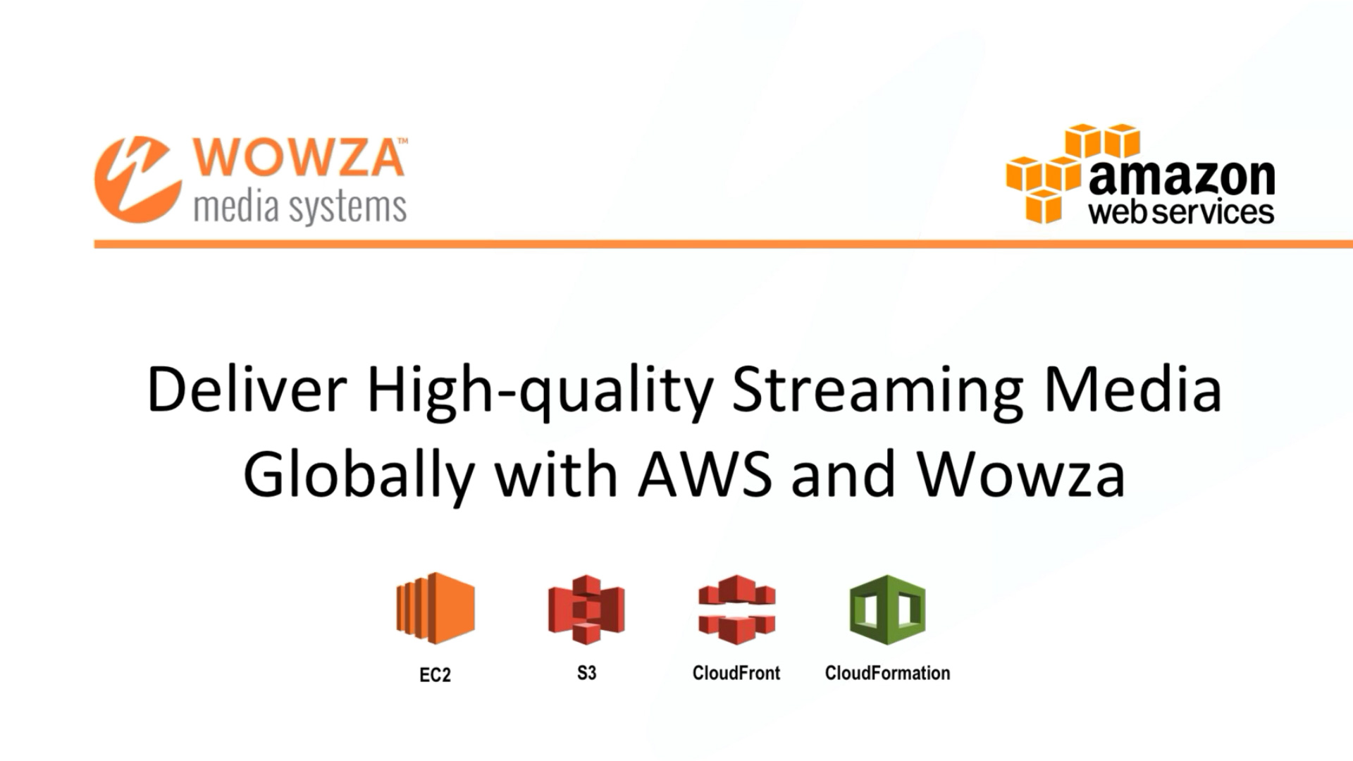 Benefits of Live Video Streaming on AWS | Wowza