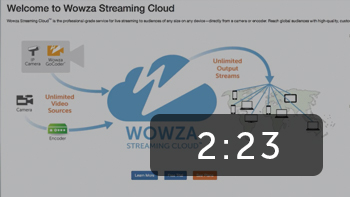 How to Create Your First Stream with the Wowza Streaming Cloud