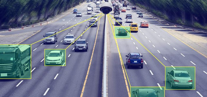 Vehicles being monitored via live stream with machine learning technologies