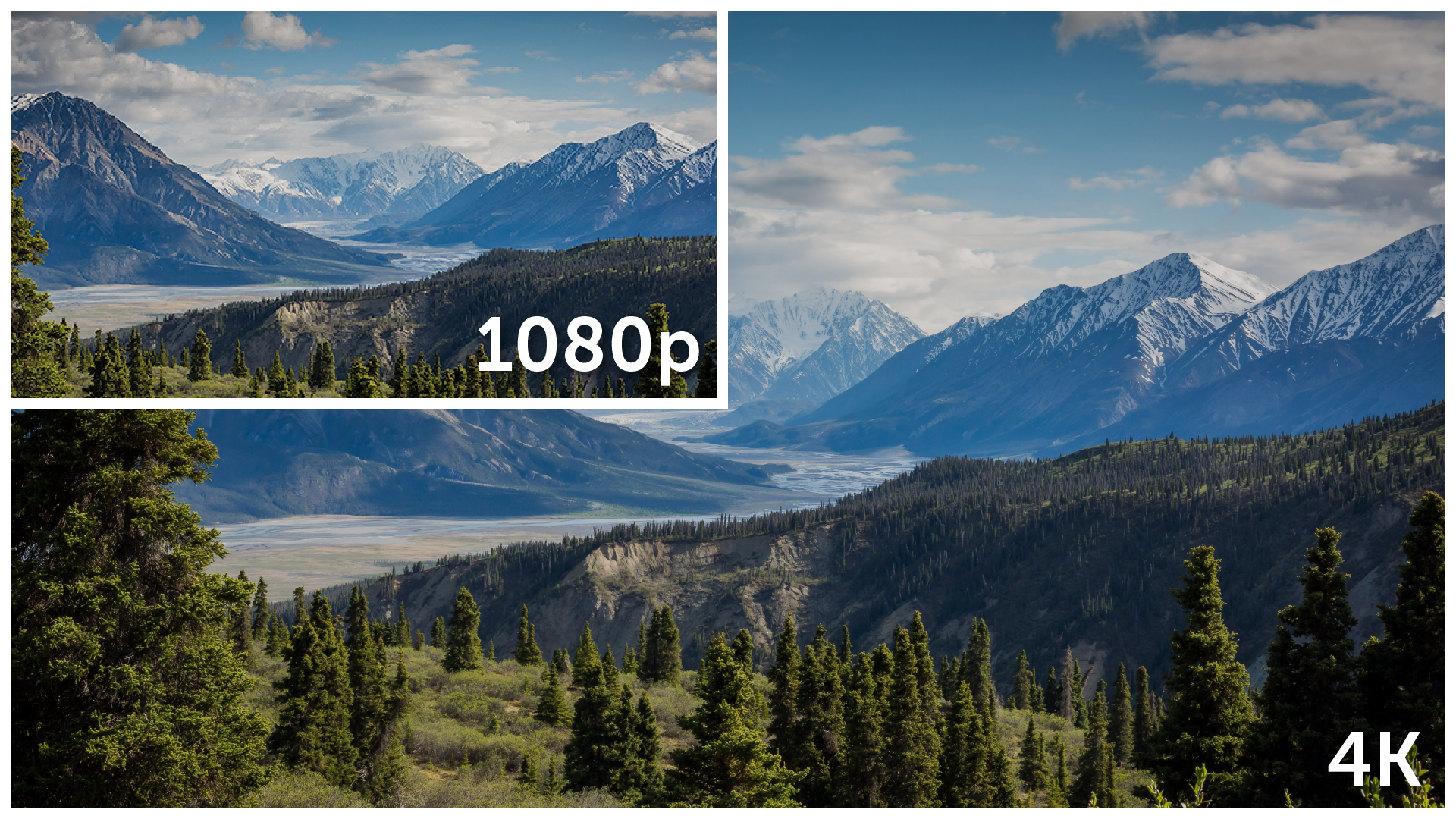 Streaming in 4K Resolution vs. 1080p