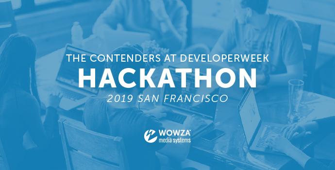Video: The Contenders at DeveloperWeek Hackathon