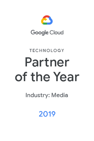 google partner of the years badge