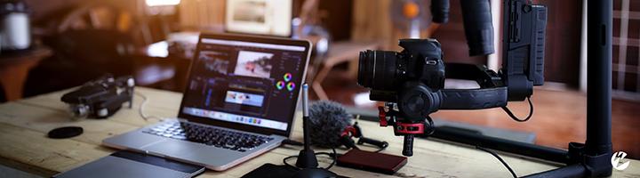 live streaming equipment for a studio setup