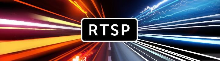 RTSP with streaming data animation