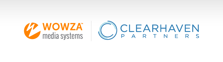 Wowza Media Systems logo and Clearhaven Partners logo