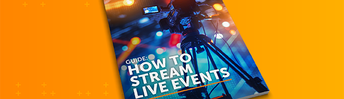 Thumbnail image of a document titled Guide: How to Stream Live Events