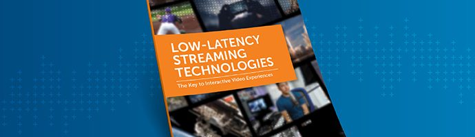Thumbnail of a printed report titled Low-Latency Streaming Technology