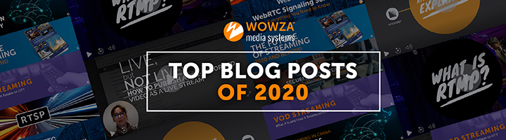 Top Blog Posts of 2020 graphic