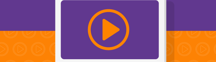 A graphic showing browser-based playback of a video stream.