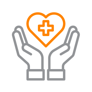 An icon depicting a man using rehabilitation equipment.