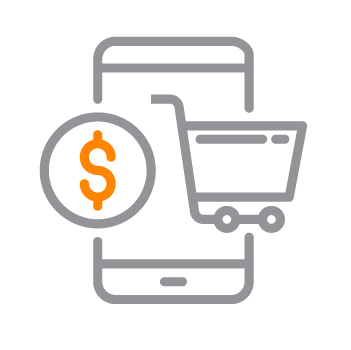 Live Commerce and Retail Icon