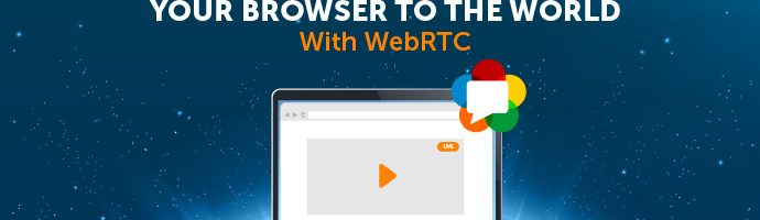 Title Image: Live Stream From Your Browser to the World With WebRTC