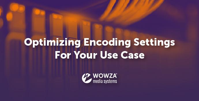 Optimizing Encoding Setting for Your Use Case