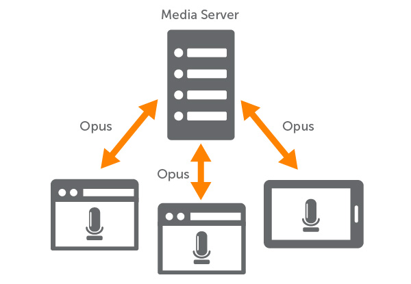WebRTC Video Conferencing With Opus Codec