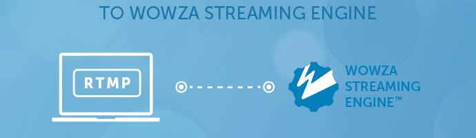 Sending an RTMP stream to Wowza Streaming Engine