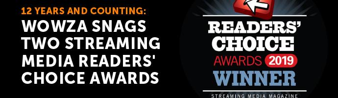 Blog: Streaming Media Readers' Choice Awards