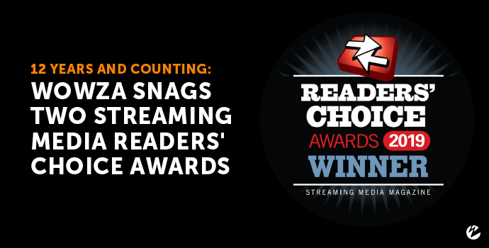 Blog: Streaming Media Readers' Choice Awards