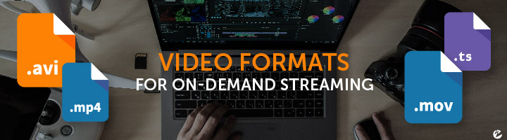 Video Formats for On-Demand Streaming