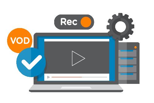 WebRTC VOD and Recording Capabilities