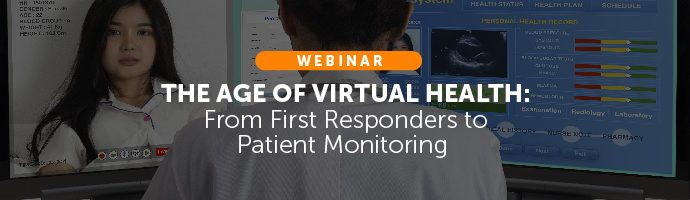 Title Image: The Age of Virtual Health Webinar