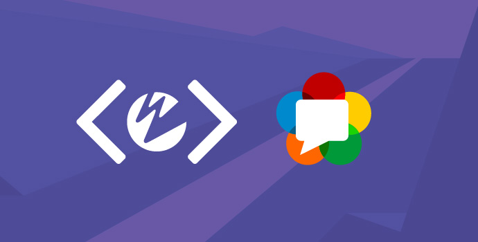 Wowza Developer Logo and WebRTC Logo