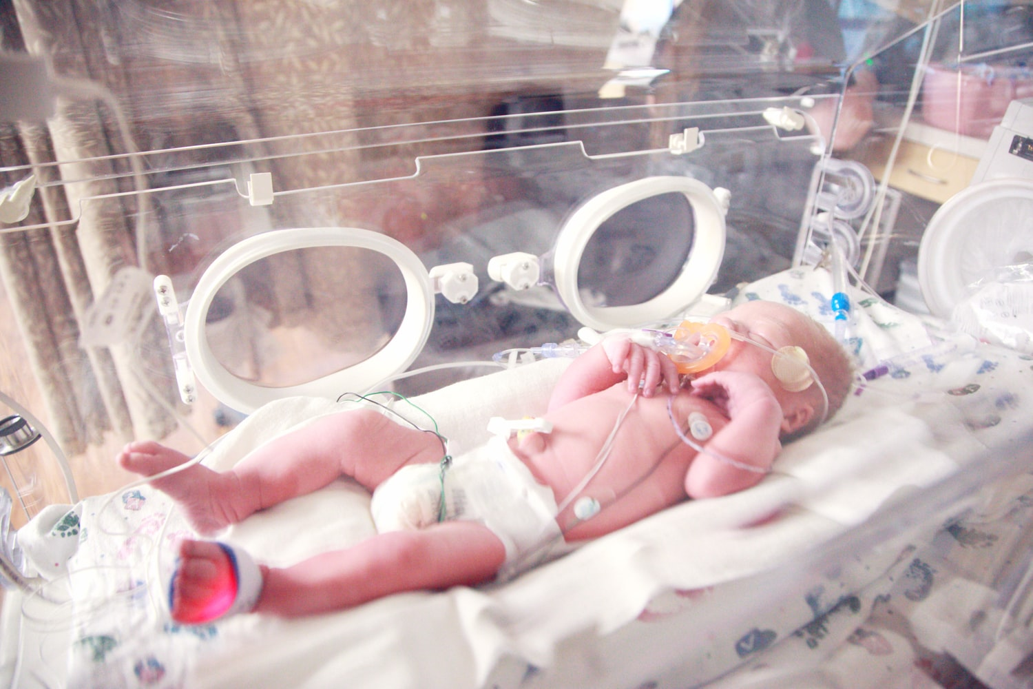 Newborn Baby in NICU