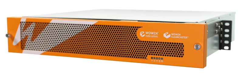 Wowza ClearCaster Enterprise encoding appliance hardware picture